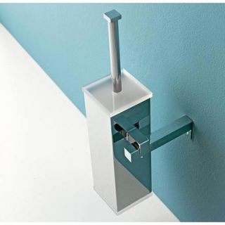 Toscanaluce by Nameeks Wall Mounted Toilet Brush Holder