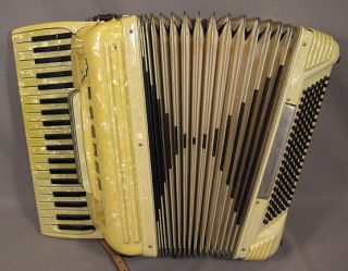 Vintage Crucianelli Marian Accordion with Case Made In Italy by