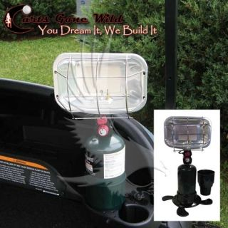 Portable Propane Heater Golf Cart Heater Fits in Cup Holder Up to 5000