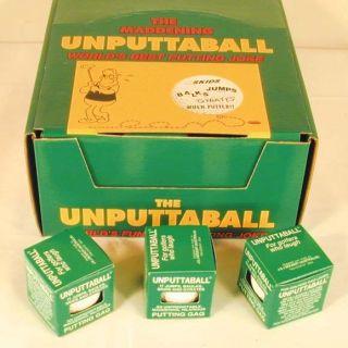 Unputtable Golf Balls Gift Trick Golfing Supplies