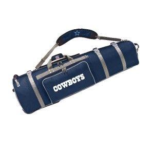 Dallas Cowboys Golf Club Travel Bag Case Heavy Duty Clubs Storage
