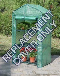 Tier Mini Greenhouse Replacement Reinforced Cover Only   Outdoor