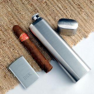 Holder Zippo Lighter Combo Personalized Engraved Groomsmen Gift