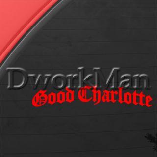 Good Charlotte Decal Punk Car Truck Window Sticker