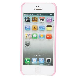 Hot New 3D Rose Blossom Hard Plastic Case Cover Skin for Apple iPhone