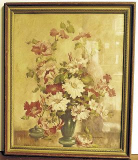 Harvey R Griffiths Signed Framed Print 19x16