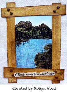 Darkroom Door Cling Stamp Woodgrain Background Rubber UM DDBS024