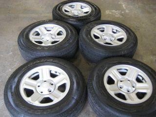 Jeep Wrangler Wheels with Goodyear Wrangler St Tires