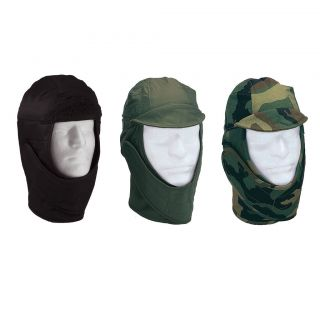 Military Fleece Helmet Liners (Cold Weather Head Gear, Army Helmet