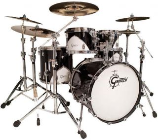 Gretsch Renown 57 5pc Drum Set SHELL PACK Motor City Black NEW with
