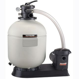 Hayward S180T92S Above Ground Swimming Pool Sand Filter w 1 HP Pump