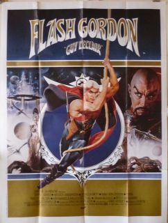 Flash Gordon 47x63 French 1981 Sam Jones
