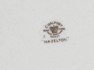 Coalport Hazelton Cobalt Blue Gold Dinner Plates