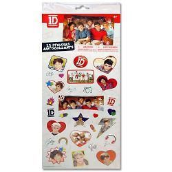 SUPER IDOL ONE DIRECTION ROCK BAND (1 D) 25 PIECES STICKER SHEET MUST