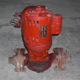 Bell Gossett 1 4 HP 1725RPM Circulator Pump Motor 189105