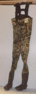 Ducks Unlimited Mad Dog Gear H120 MX4 3.5mm Chest Waders   Sz 8