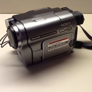Sony Handycam DCR TRV280 Digital Video Camera Recorder Perfect For