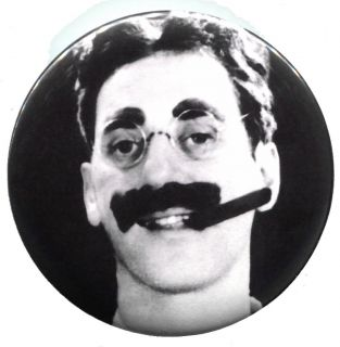 Groucho Marx Brothers Retro Pin Badge Button Pinback