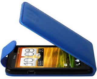 Crystal Leather Flip Wallet for HTC ONE X / ONE XL   Cover Case Screen