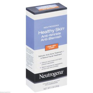 Neutrogena Healthy Skin Anti Wrinkle Anti Blemish Clear Skin Cream 1oz