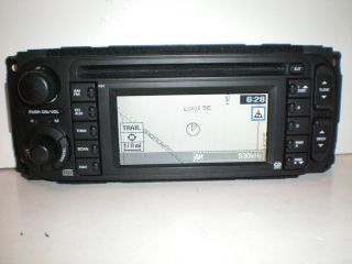 Dodge Chrysler Jeep Factory RB1 Navigation GPS CD Radio Stereo