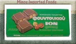 Chocolate ion Milk Chocolate with Hazelnuts 7 1 Oz