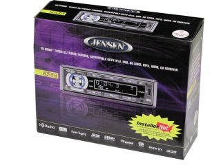 Jensen HD5313 CD MP3 USB SD iPod HD Car Stereo Player