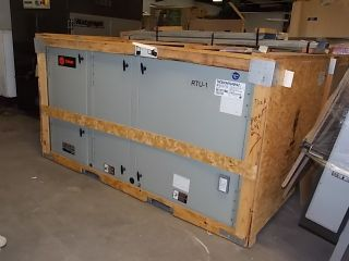 New Trane Combination Heating Cooling Unit 7 5 Ton