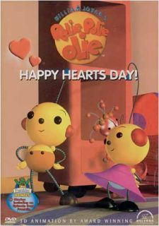 Rolie Polie Olie Happy Hearts Day New DVD