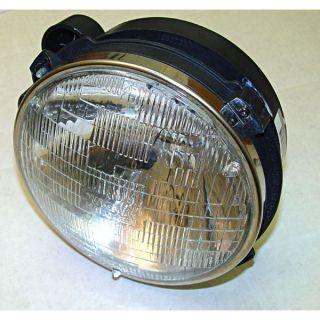 12402 04 Omix ADA Headlight Assembly with Bulb JEEP Wrangler 1997 2006