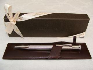 Limited Edition Silver Ballpoint Pen by Graf Von Faber Castell