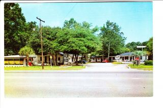 Hardeeville SC Oaks Motel Court 1950s Old Coca Cola Vendo Machine