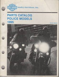 1995 Harley Davidson Motorcycle Police Models Parts