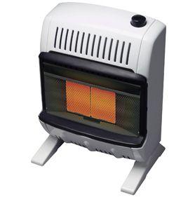 Mr Heater HEATSTAR10K BTU Propane Gas Vent Free Radiant Heater