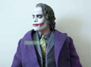 2008 Batman Dark Knight TDK Joker Heath Ledger 1 4 18 New