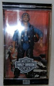 Barbie Doll Collector Edition Ken 1999 Harley Davidson Motorcycle