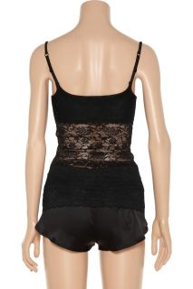 Top Secret Double Agent stretch lace camisole