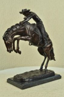 The Wooly Chaps Bronze Sculpture by Frederic Remington in Excellent