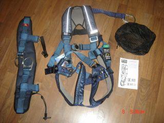 NEW DBI Sala ExoFit XP iSafe Harness w Seat sz Large Full Body