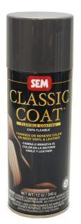 SEM Classic Coat Dark Graphite Vinyl Leather Auto Paint