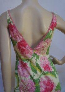 Helen Wang New York Beautiful Artsy Floral Dress Sz 8