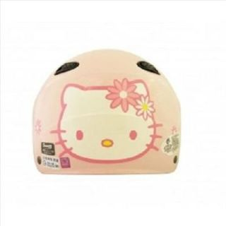 Hello Kitty Motor Bike Helmet Flower Pink White Hotpink Sanrio