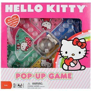 New Sanrio Hello Kitty Official Pop Up Board Game