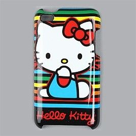 hello kitty ipod touch 4g case cover rainbow hard plastic ipod touch
