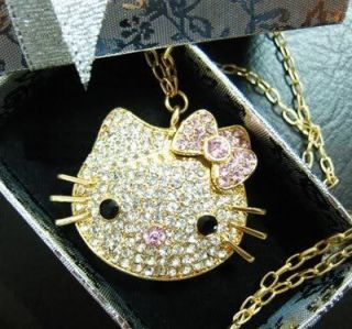 4GB 4G Hello kitty Crystal Bling USB drive Flash Drive Gold U13