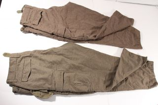 Military Uniform Pants German Made Alois Heiss KG United States Army