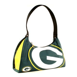 GREEN BAY PACKERS GREEN / YELLOW GAMEDAY PURSE NYLON HAND BAG MLB