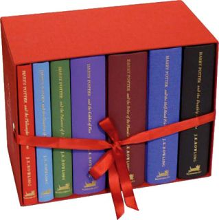 Harry Potter UK Deluxe Gift Edition Box Set All 7 Books