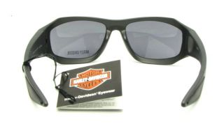 Harley Davidson Sun Glasses Riding w Integrated Storage Clip NIP