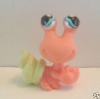 Littlest Pet Shop LPS Coral Green Hermit Crab 929 New